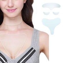 Пластырь силиконовый прозрачный против морщин для кожи вокруг