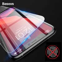 Baseus 2 uds 0,15mm Protector de pantalla para iPhone 11 Pro Max 11pro Protector de vidrio templado para iPhone XS Max XR X