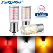 1 шт. 1156 BA15S P21W светодиодный светильник 1157 BAY15D P21/5 W светодиодный фонарь R5W R10W S25 автомобильный указатель поворота задние DRL Авто белый красный желтый