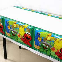 Tablecloth Shower Christmas-Decoration Party-Supplies Anniversaire Baby Disposable Cartoon