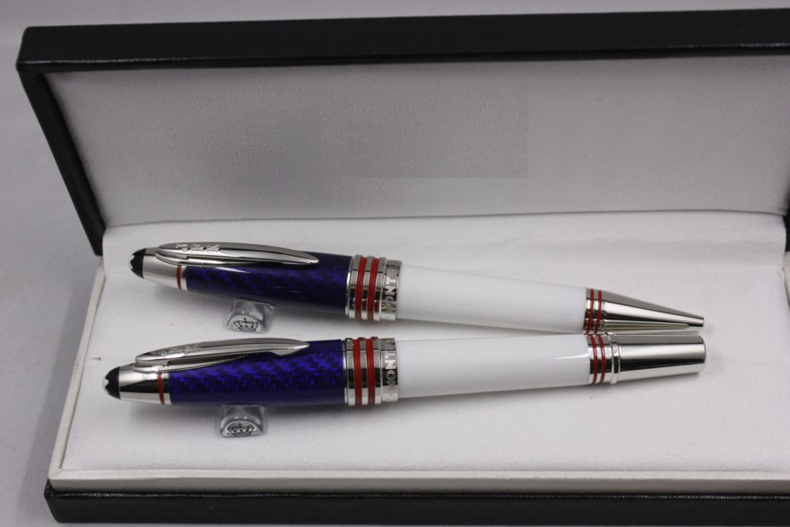 Wakaka Mon Great Characters John F. Kennedy Limited Edition 1917 Blanc ink Rollerball Pen Ballpoint Pen Fountain Pen