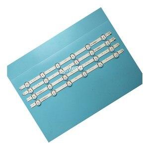 Image 1 - New 10set=40 PCS LED strip For LG 49UV340C 49UJ6565 49UJ670V V17 49 R1 L1 ART3 2862 2863 6916L 2862A 6916L 2863A