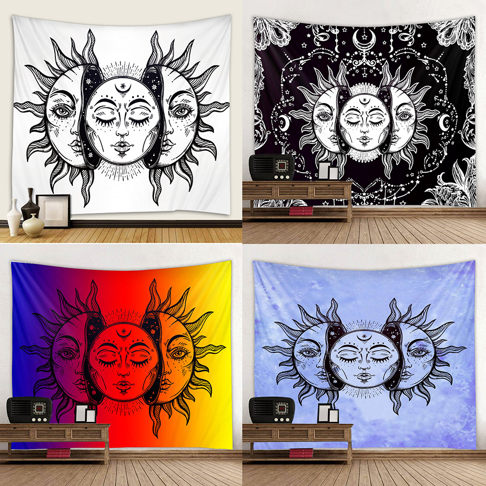 Three Sun Goddess Background Printing Tapestry Background Hanging Cloth Digital Printing Colorless And Tasteless Can Be Customiz