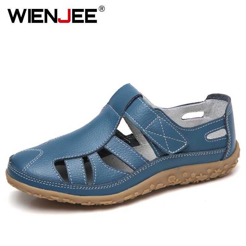 Женские сандалии-гладиаторы из спилка; Летняя обувь; Женские открытые сандалии на плоской подошве; Женские повседневные сандалии на мягкой подошве для пляжа