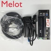 цена на New Delta AC servo 400W B2 0.4KW 1.27NM 3000rpm 60MM ASD-B2-0421-B ECMA-C20604RS motor drive kit with 3m Cable