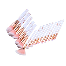 Makeup-Brushes-Sets Foundation Cosmetic-Powder Eyebrows Highlighter-Eye Eye-Shadow Soft-Hair