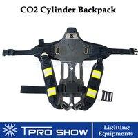 DJ CO2 Gun Back Pack Hand Held LED Pistol CO2 Cylinder Backpack Holder Co2 Tank Compressed Gas Air Cylinder