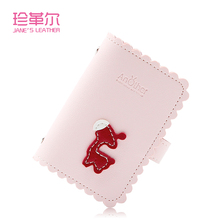 2019 New Cute Little Donkey Card Holder ID Credit Business Cards Holder Wallet Passport Cover Card Bag Case Femme Carteira Mujer card case credit card holder student cute cartoon id cards women wallet passport business card holder book protector 2018 gift