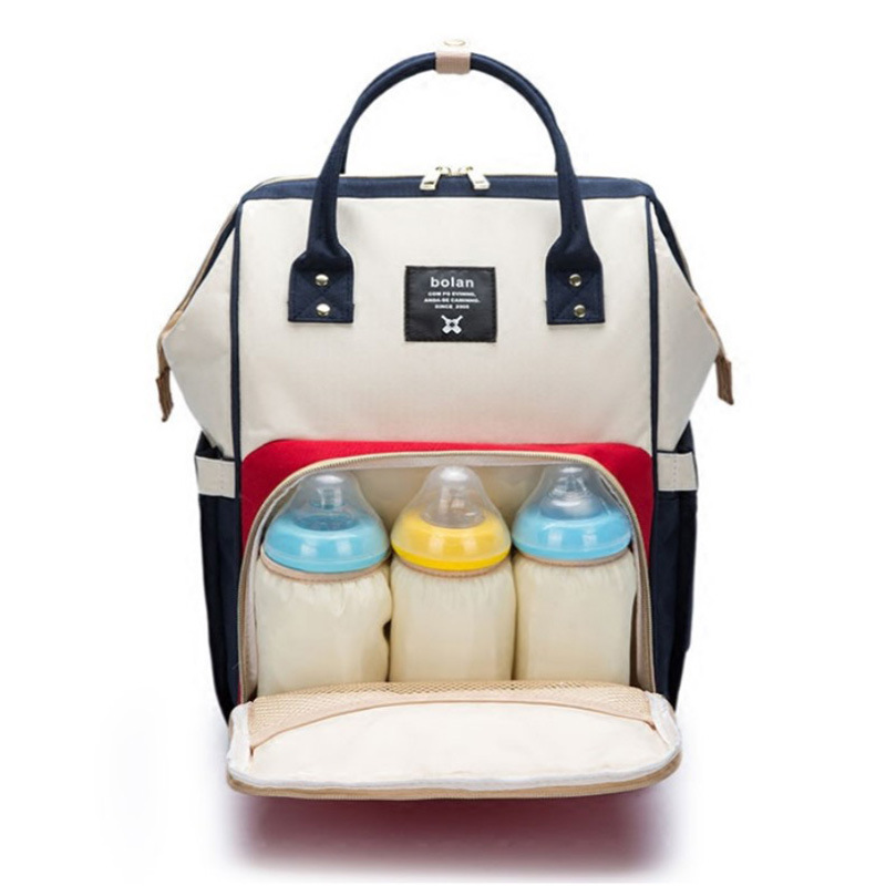 Manufacturers Direct Selling 2019 New Style Fashion Diaper Bag Shoulder Multi-functional Large-Volume Mom And Baby Baoma Backpac