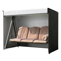Garden Swing Cover 3 Seater Swing Hammock Cover Outdoor Garden Patio Protector Sun Shade Waterproof Chair Cover