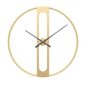 Image 3 - 북유럽 금속 벽시계 레트로 철 라운드 얼굴 대형 야외 정원 시계 홈 인테리어 벽시계 현대 디자인 reloj pared
