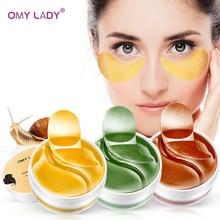 OMY DAME Auge Maske Kollagen Augenklappe Hautpflege Hyaluronsäure Gel Feuchtigkeitsspendende Retinol Anti Aging Entfernen Augenringe Auge tasche