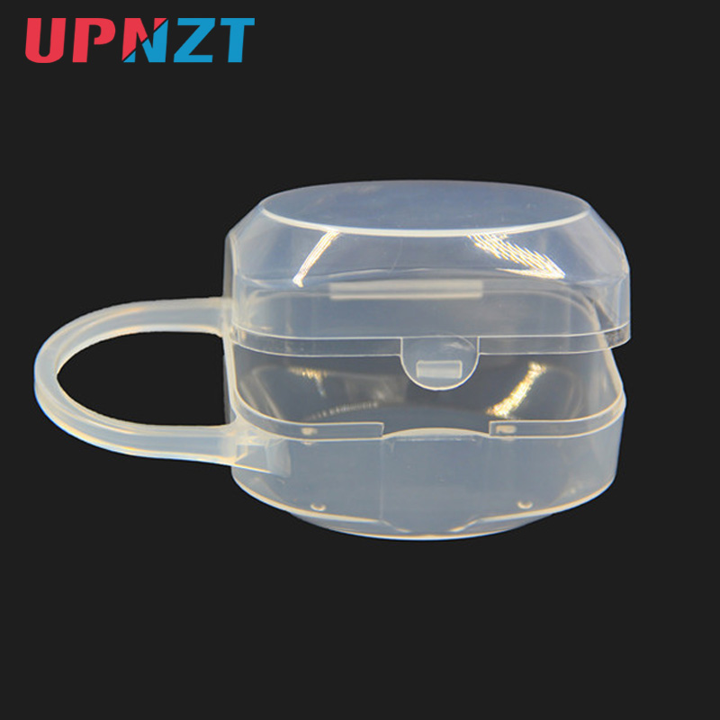 Baby Pacifier Box Soild PP Wide Mouth Nipple Box Portable Dust Pacifier Storage Box Nipple Case Holder Travel Storage Box
