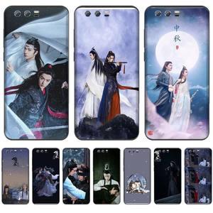 Чэнь Цинлин Ван Yibo Сяо Чжан черный чехол для телефона Huawei NOVA 2 2i 2s 3i 4 4e 5 plus P10 lite 20 P20 pro honor10