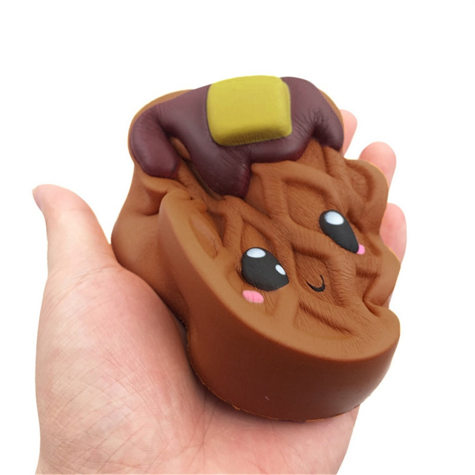Gift Toy Fidget-Toys Biscuits Antistress-Gadget Chocolates Soft Squishy Cute Kawaii Decompression img5