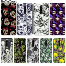 CUCI Skull Cover Black Soft Shell Phone Case For Redmi 6 4X 7 7A 8 GO K20 Note 4 4X 5 5A 6 6 Pro 7 8 8pro original liquid silicone phone case for xiaomi redmi k20 8a 7a 5a 4x s2 5 plus soft back cover for redmi note 4x 8 7 6 5 pro