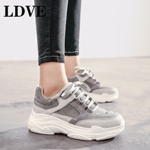 Vintage dad Sneakers Women Shoes High Quality Breathable Outdoor Gray Pink Shoe Casual Girls