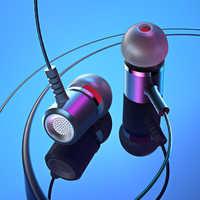 Langsdom M400 Cuffie Auricolari in Ear Sport Wired per il Telefono Xiaomi Cuffie Super Bass con Il Mic Hifi Auricolari fone de ouvido