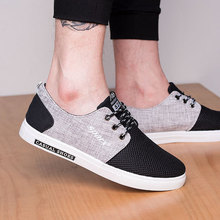 Fashion Sneakers Men Summer Shoes Air Mesh Vulcanize Shoes Male Casual Low-cut Breathable Oxfords Lace-up Flats Derby Loafers spring men low top casual shoes lace up loafers breathable sneakers youth popular shoes male flats black red 01b