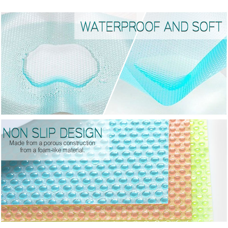 Image 3 - 4pcs/set Refrigerator Waterproof Pad Antibacterial Antifouling  Mildew Moisture Tailorable Pad Refrigerator MatsMats
