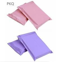100 stücke 17*30cm Rosa Poly Verschiffen Mailer Lila Kunststoff Umschlag Gelb Tasche Blau Mailing Verpackung Paket