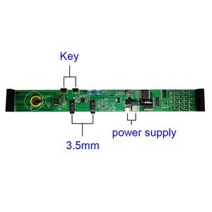 Image 3 - Analyseur daffichage de spectre de musique de LED coloré 20 Segments 10 niveaux amplificateur de PC MP3 indicateur de niveau Audio musique