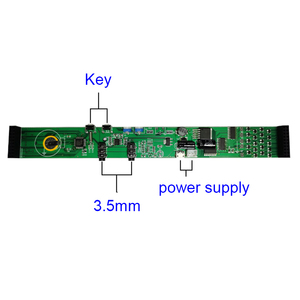 Image 3 - Colorful LED Music Spectrum Display Analyzer 20 Segments 10 Levels MP3 PC Amplifier Audio Level Indicator Music