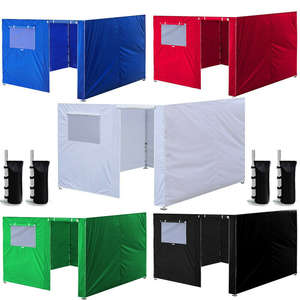 Canopy Tent Instant-Gazebos Pop-Up Wall-Sides Garden Oxford Outdoor Waterproof Patio