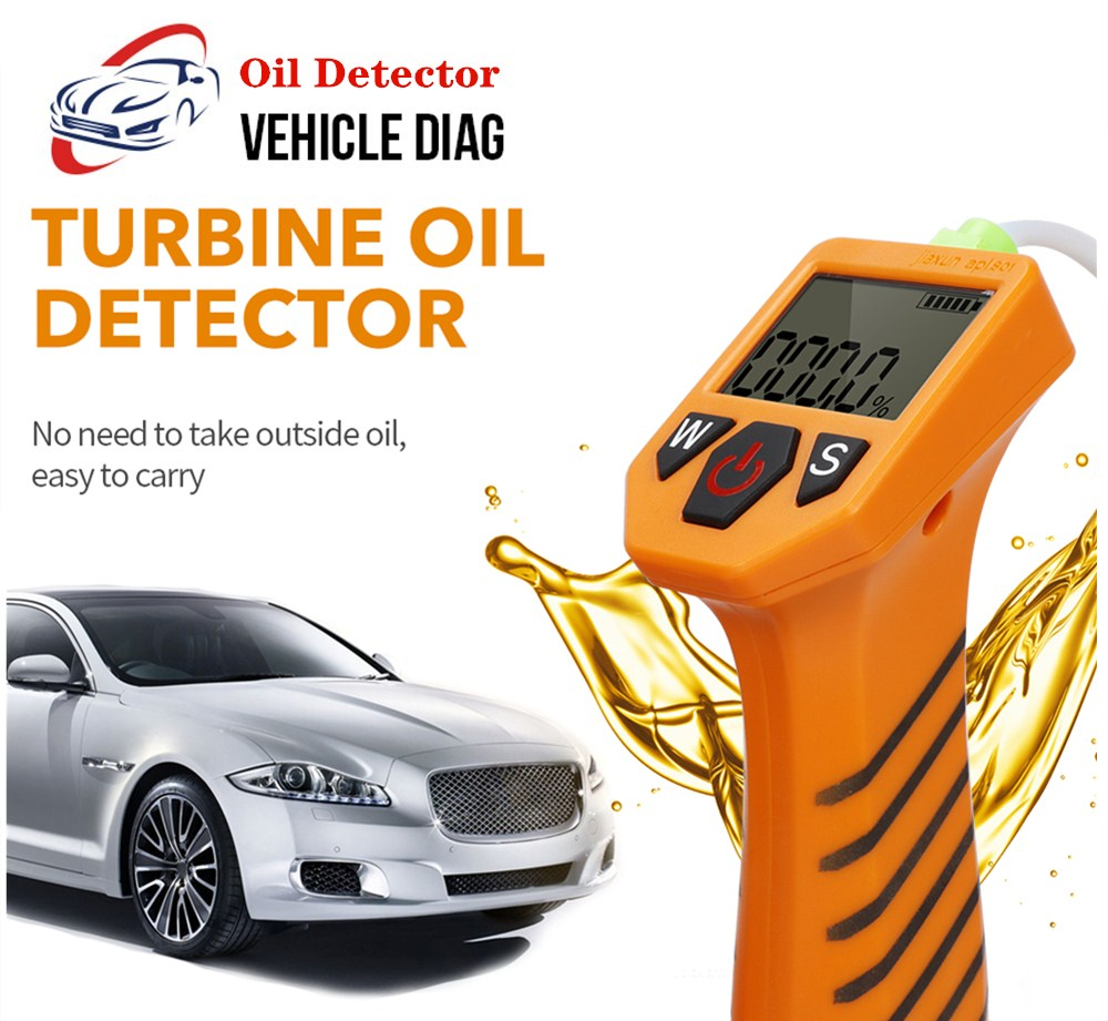 Car Oil Tester LED Digital Gas Diesel Analyzer Engine Oil Tester Repair Tool Car Accessories No Battery Automotive Herramientas