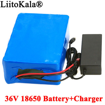 36V 13ah 16ah 20AH Electric Bike Lithium battery 20ah 500W 800W 1000W Scooter Battery with 30A BMS + 42V 2A charger image