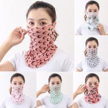 Fashion women men maska cotton breathable maske Washed Reusable Maska Print Scarf Masks dropshipping fast shipping In Stock недорого