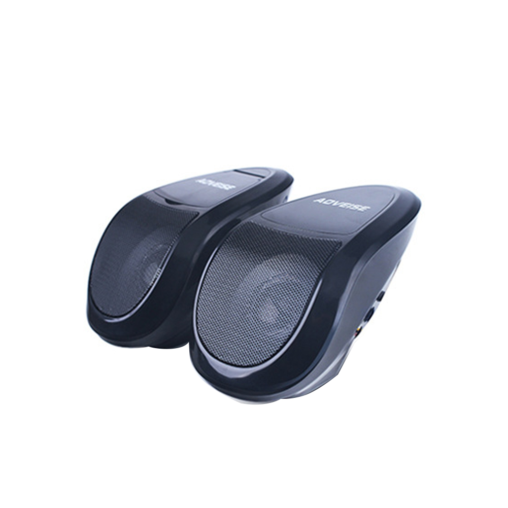 Audio Amplifier U Disk Stereo FM Radio With Light Multifunction Bluetooth Scooter Professional MP3 Player Motorcycle Speaker