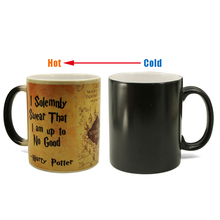 New Cold Hot Magic Mug Harry Drink Cup Color Changing Potter Marauders Map Mischief Managed Wine Tea Creative Gifts