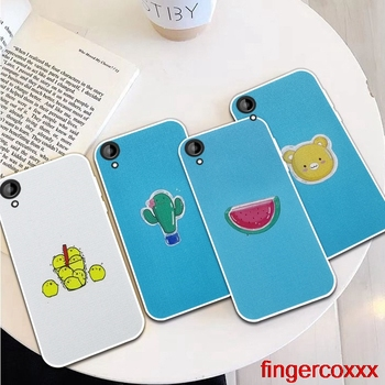 Coxxx Fish 3 Silicon Soft TPU Case Cover For HTC Desire One X9 M9 M10 U11 630 650 820 825 828 830 10 12 Plus Pro Evo image