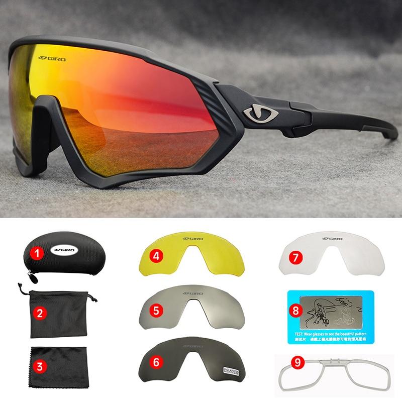 Bicicleta esportes ao ar livre óculos polarizados óculos de sol esportes ciclismo óculos para homem e mulher photochromic uv400