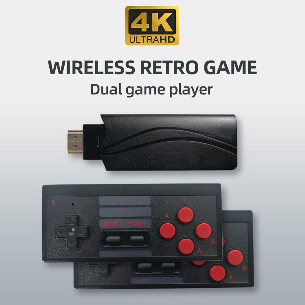 S3 hdmi-console de jogos de vídeo compatível construído em 628 jogos clássicos sem fio controlador sem fio dobra mini fc game console