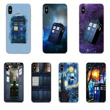 Cover For LG G3 G4 G5 G6 G7 K4 K7 K8 K10 K40 K50 Q6 Q60 V10 V20 V30 V40 Nexus 5 5X 2017 Doctor Who Tardis Police Box(China)
