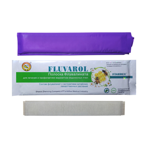 Image 1 - FLUVAROL fluvalinate varroa strips  20 strips Fishbee bee medicine with Chinese herbal extracts for Russian apicultura varroa