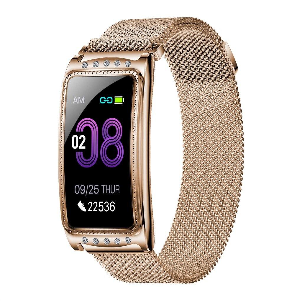 HIPERDEAL F28 Women Smart Watch IP67 Waterproof Sleep Monitoring Bracelet Sports Color screen fitness tracker heart rate monitor