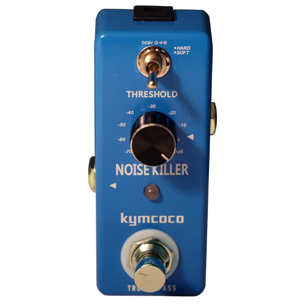 Kymcoco Noise Gate Noise Reduction Suppressor Guitar Effect Pedal 2 Modes True Bypass Aluminum Alloy Shell Guitar Accessories