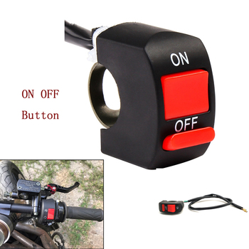 22mm Universal Motorcycle Handlebar Flameout Switch ON OFF Button For Suzuki GSR750 GSXS750 GSXR600 GSXR750 RM85 RM125 RM250 image