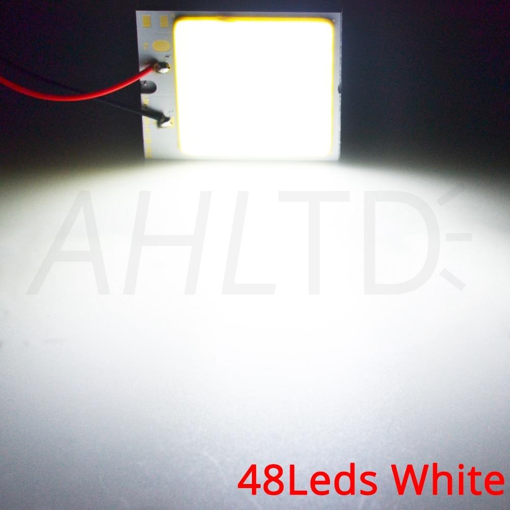 He3342e25835848aea5b44a6bc2b1b1f2Q Car Led T10 C5W Cob 24 36 48SMD White Reading Car Led parking Bulb Auto Interior Panel Light Festoon License Plate light Bright