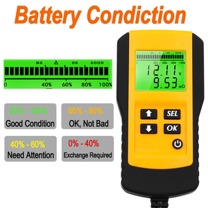 Image 3 - 10 Pcs Professional Digital 12V Car Battery Tester Load Test Analyzer for Voltage Resistance and Deep Cycle Battery Life
