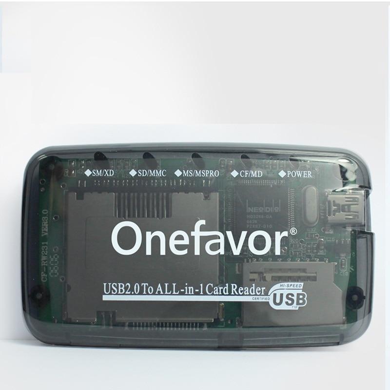 SD MMC XD SM MS CF MD устройство для чтения карт памяти