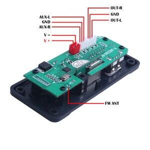 Image 3 - Newest Wireless Bluetooth MP3 WMA Decoder Board Audio Module Support USB TF AUX FM Audio Radio Module For Car accessories