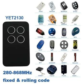 280-868MHZ Universal Fix Rolling Gate Garage Door Remote Control Duplicator Tool For Gate Garage Door Alarm Auto Door NEW