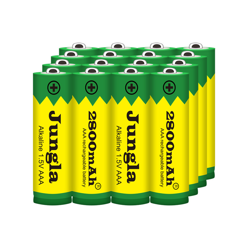 2-20PCS  New Brand AAA Battery 2800mah 1.5V Alkaline AAA Rechargeable Battery For Remote Control Toy Light Batery Free Shipping