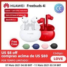 Oryginalny Huawei FreeBuds 4 i 4i TWS bezprzewodowe słuchawki Bluetooth 5.2 jednostka dynamiczna ANC aktywna redukcja szumów czysty dźwięk