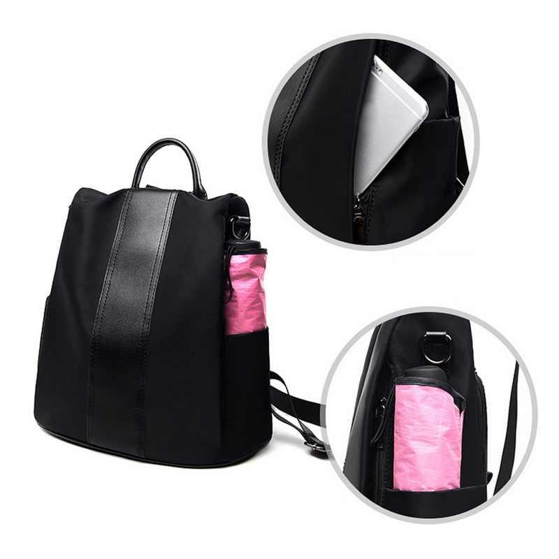 女性のバックパックスクールバッグ backbag 女性サッチェルガールカジュアルショルダーバッグボルサ Feminina 大容量 Mochilas mujer