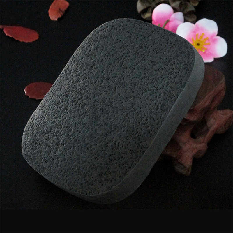Bamboe Houtskool Facial Puff Beauty Make-Up Spons Bladerdeeg Gezicht Diepe Reiniging Wassen Spons Make-Up Foundation Puff Cleaning Tools